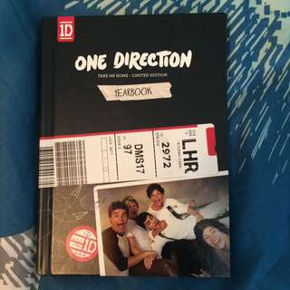One Direction Limited Edition Book With CD Inside