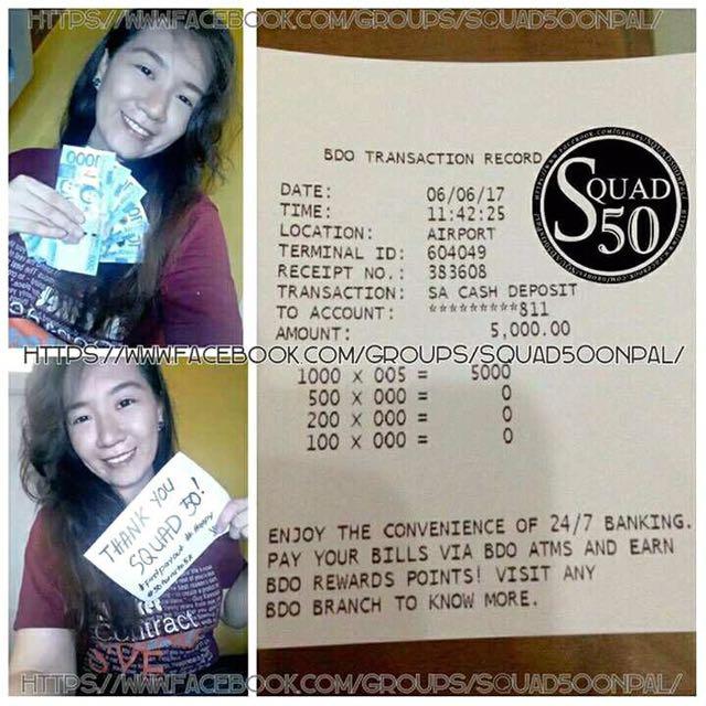 50 PESOS To 5,000