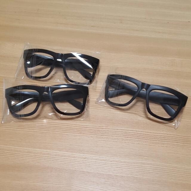 全新粗框眼鏡