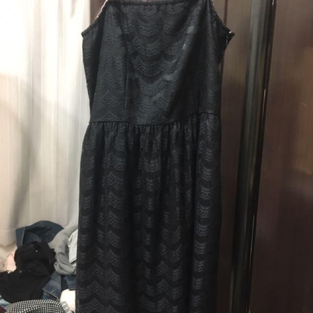 黑色高標質感小洋裝