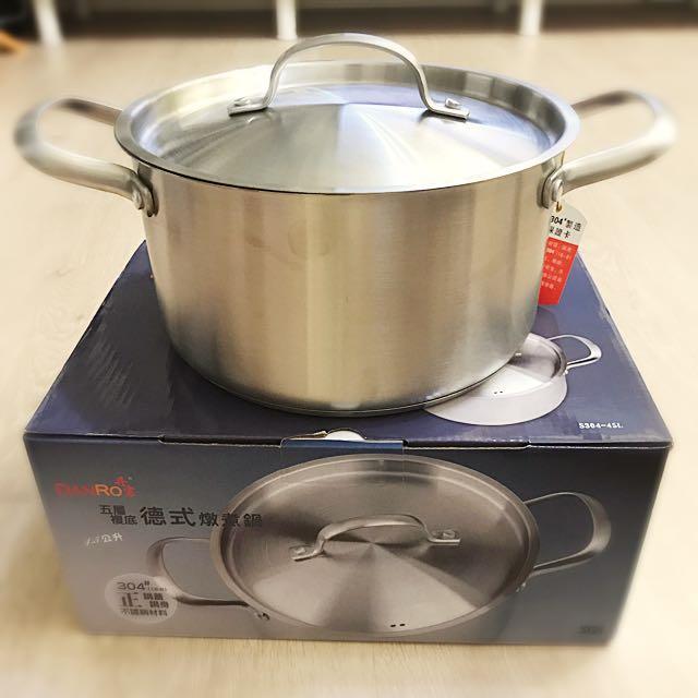五層複底德式燉煮鍋