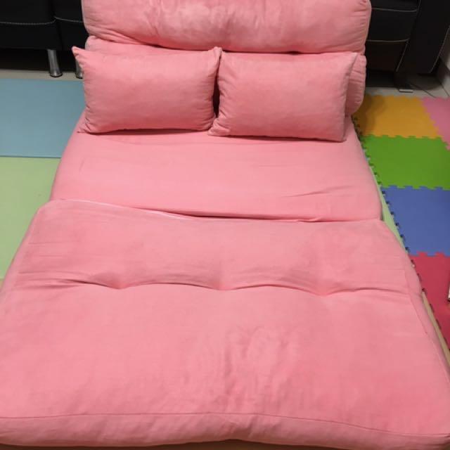 雙人棉花糖沙發床、和室椅