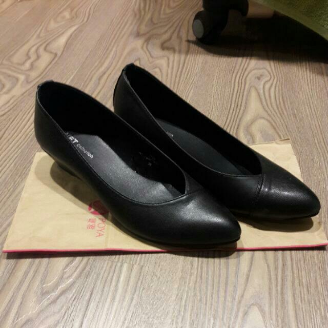 尖頭鞋 包鞋 低跟鞋 #舊愛換新歡