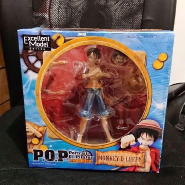 海賊王公仔 Pop 兩年後的魯夫 港版