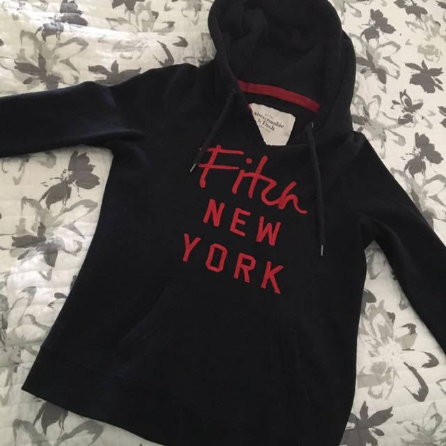 Abercrombie And Fitch Black Hoodie