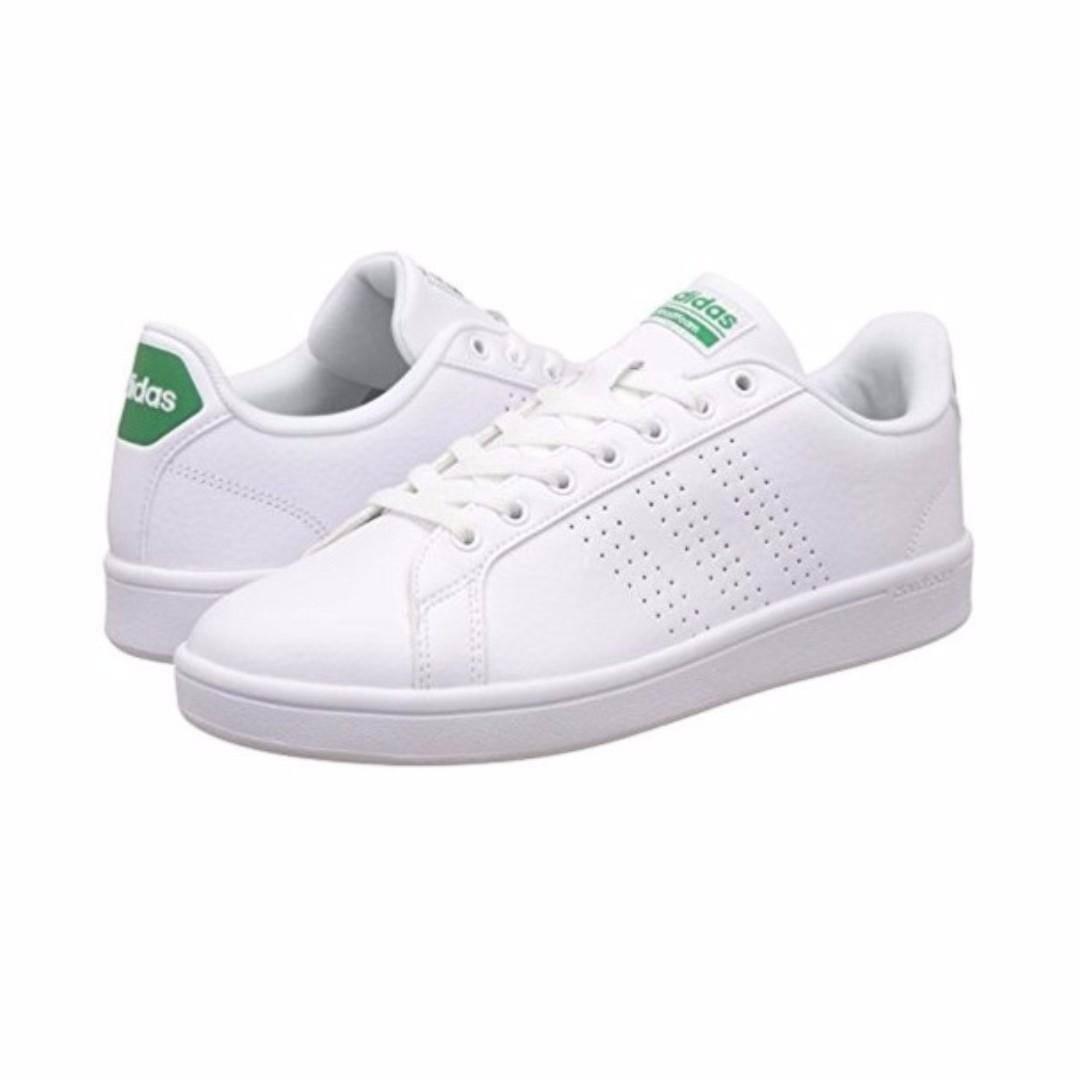 adidas NEO Cloudfoam Advantage Clean Court Men's Shoes -WHITE