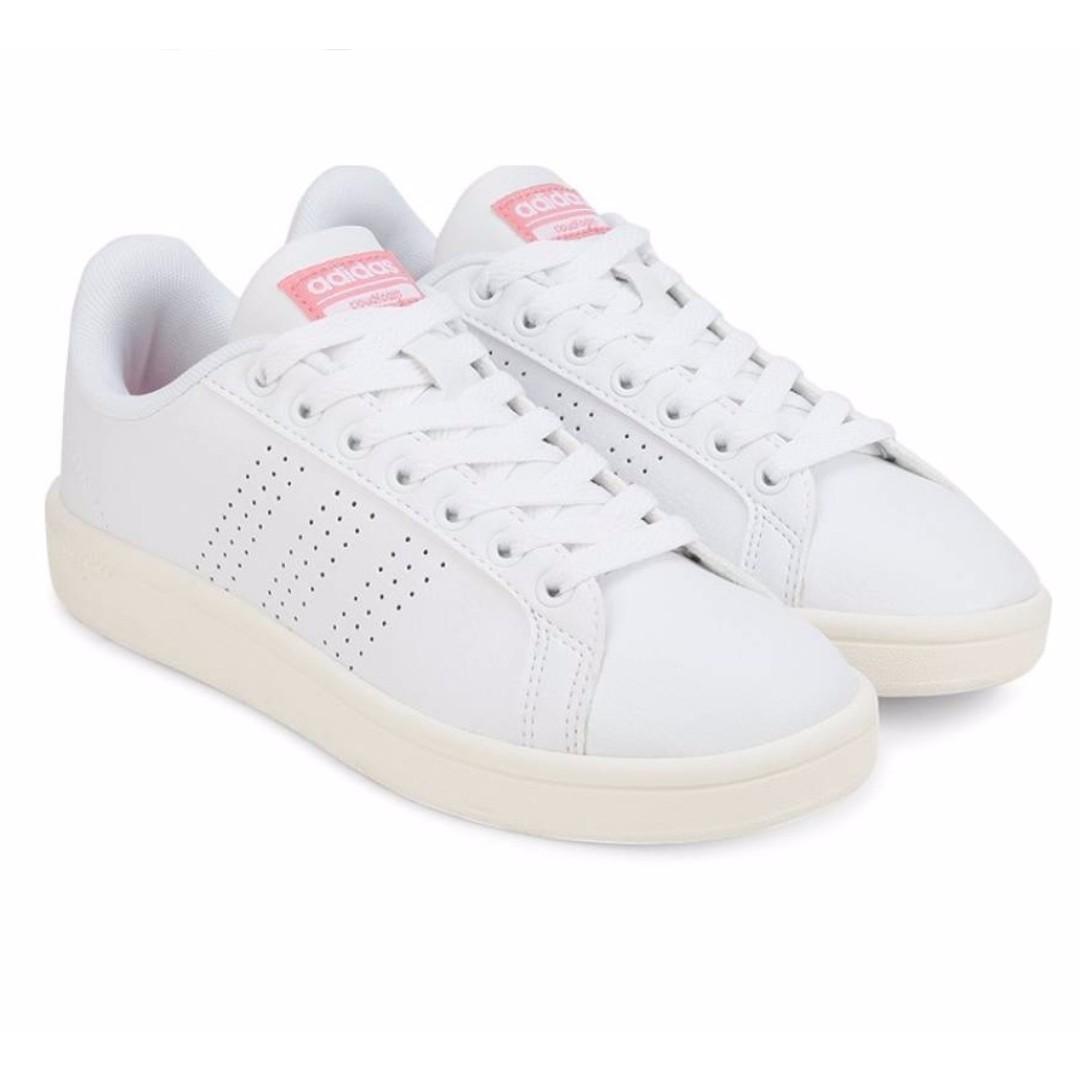 adidas Women Neo CLOUDFOAM ADVANTAGE CLEAN W Sneakers- pink tab ...