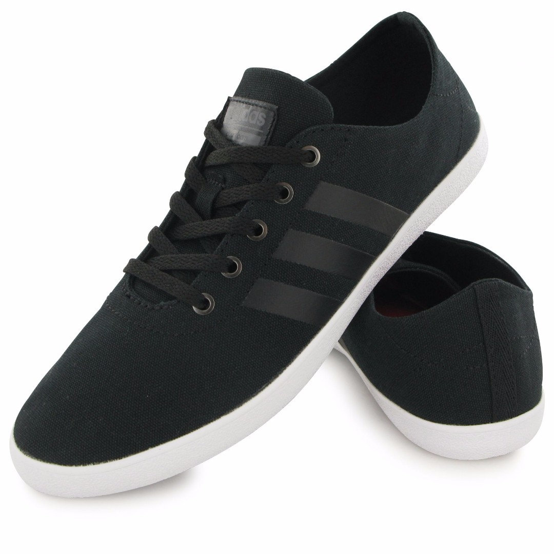 adidas Women NEO Cloudfoam QT Vulc Shoes - Black