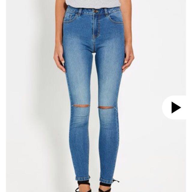 Alexis Rip Jeans