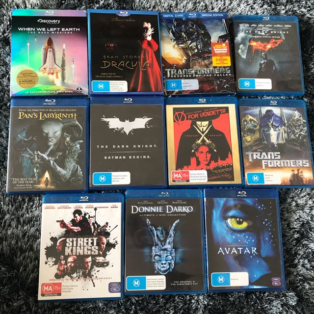Assorted BluRay Movies