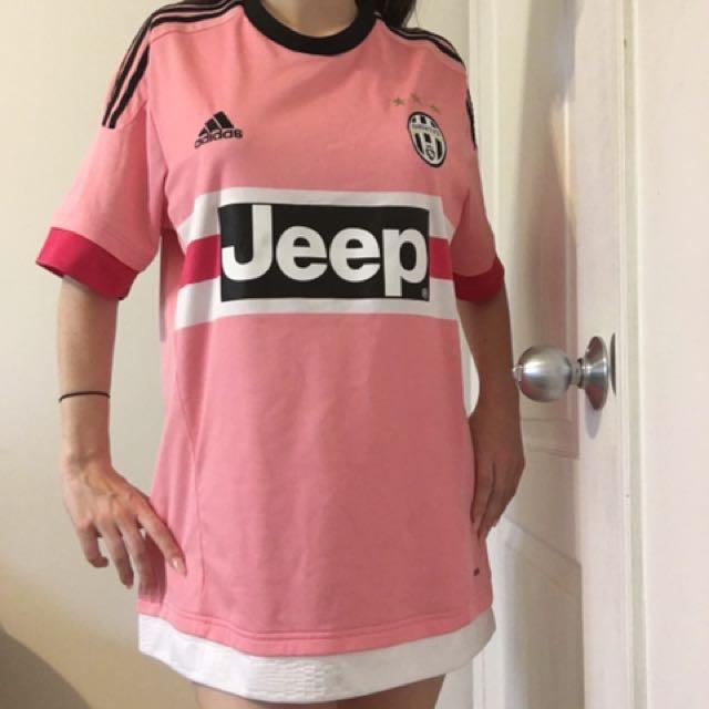 Authentic Adidas Pink Juventus Jersey