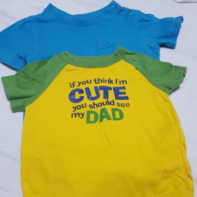 Authentic Baby Gap Onesies