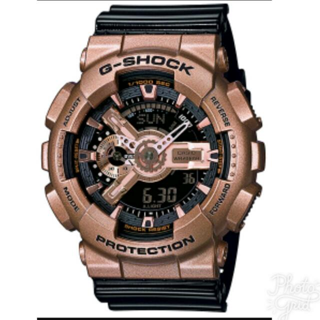 Authentic G-Shock Crazy Gold GA-110GD-9B2JF