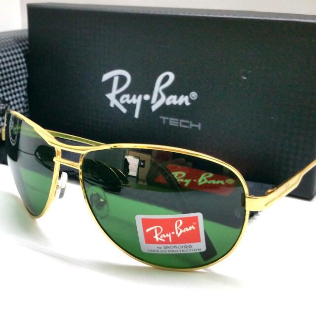 ec50dadd671f Authentic Rayban Sunglass + Original Case N Cloth Ray Ban RB3325 G15 ...