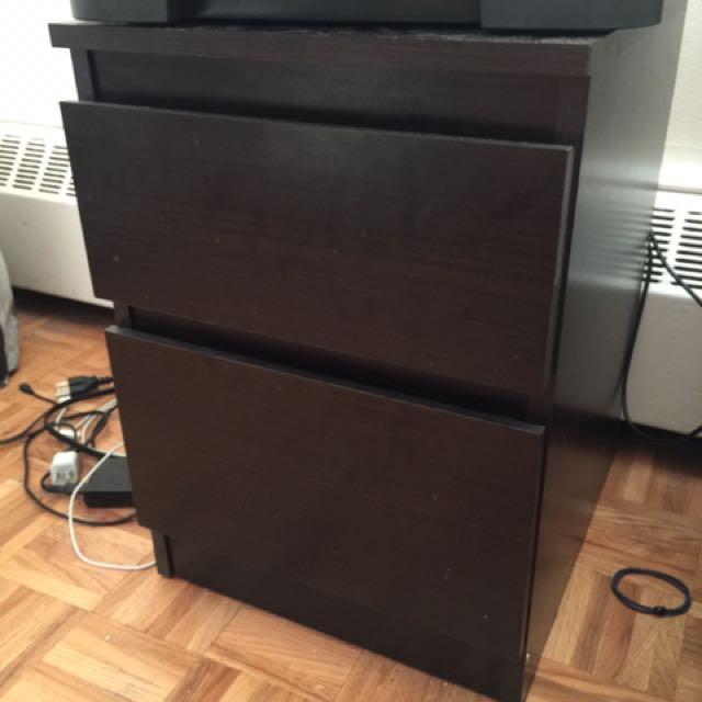 Bedside Drawer Table