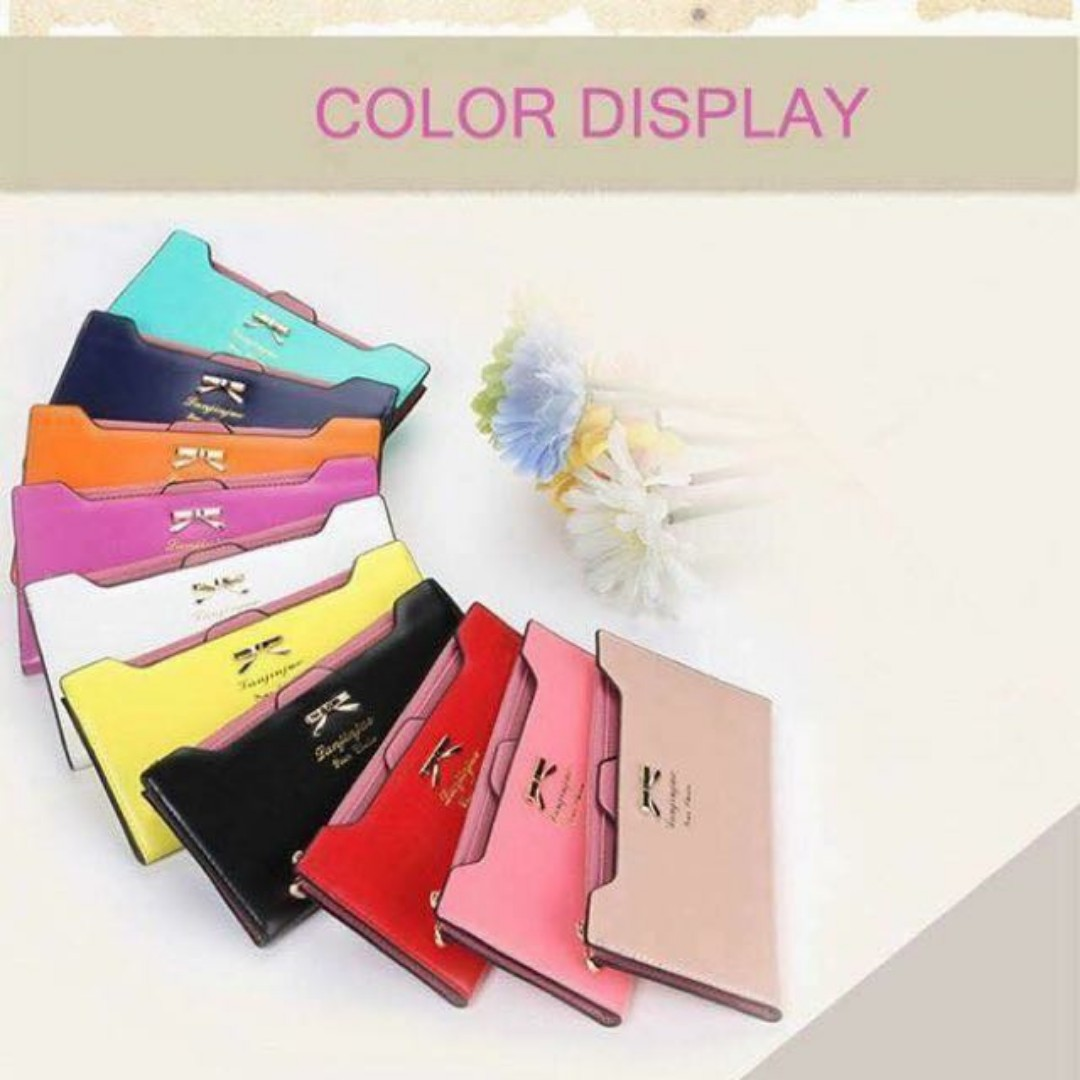 Big Sale!! PU lather Stylish Women Purse Card, mobile holder Clutch