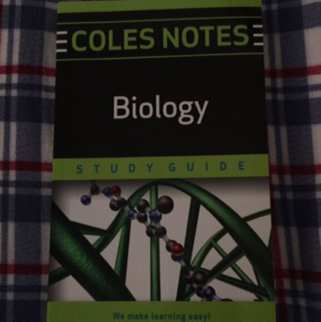 Biology Coles Notes