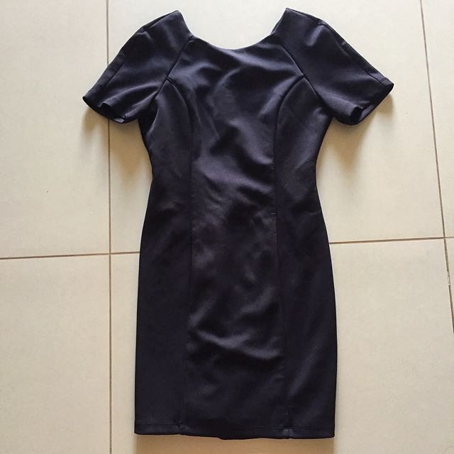F21 Black Tailored dress