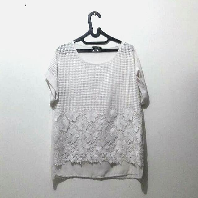 Unbranded White Blouse
