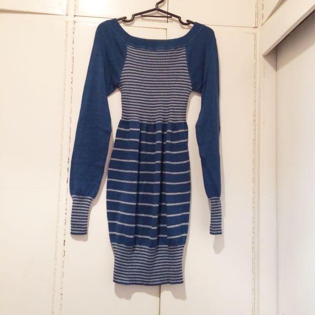 Blue Blair Waldorf Inspired Dress
