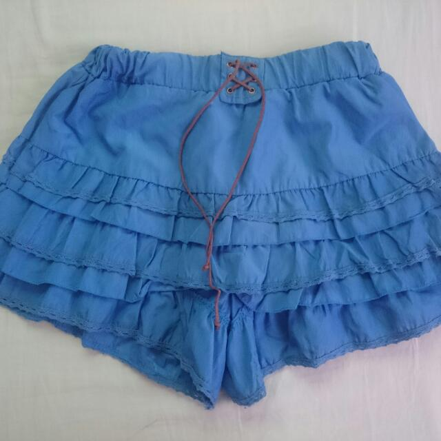 Blue Palda Short