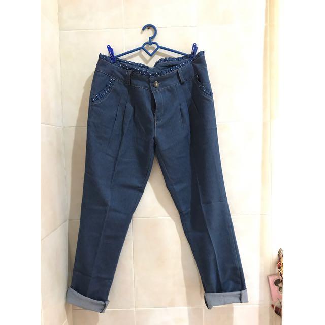 Blue Polkadots Jeans