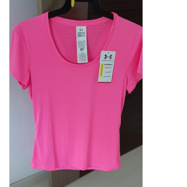 04a7f25b BNWT - UNDER ARMOUR Women Heatgear Flyweight Short Sleeve T-Shirt ...