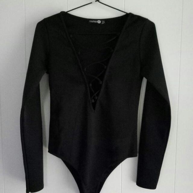 Boohoo Bodysuit Size 10