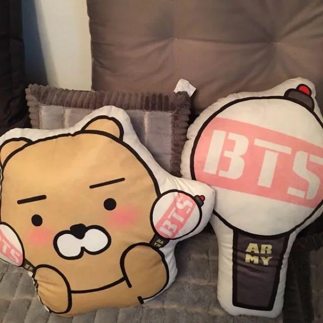 BTS防彈少年團 萊恩 阿米棒抱枕
