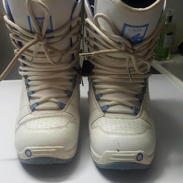 Burton's Snowboard Boots - Women Size 8