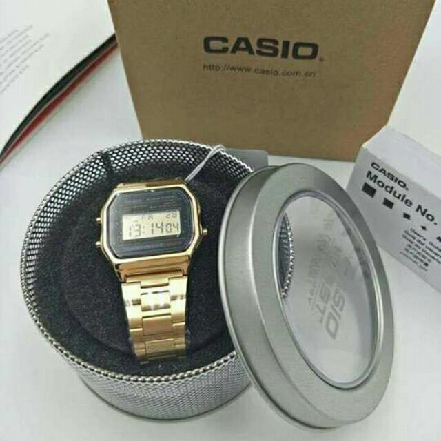 CASIO replica stainless W/ Can