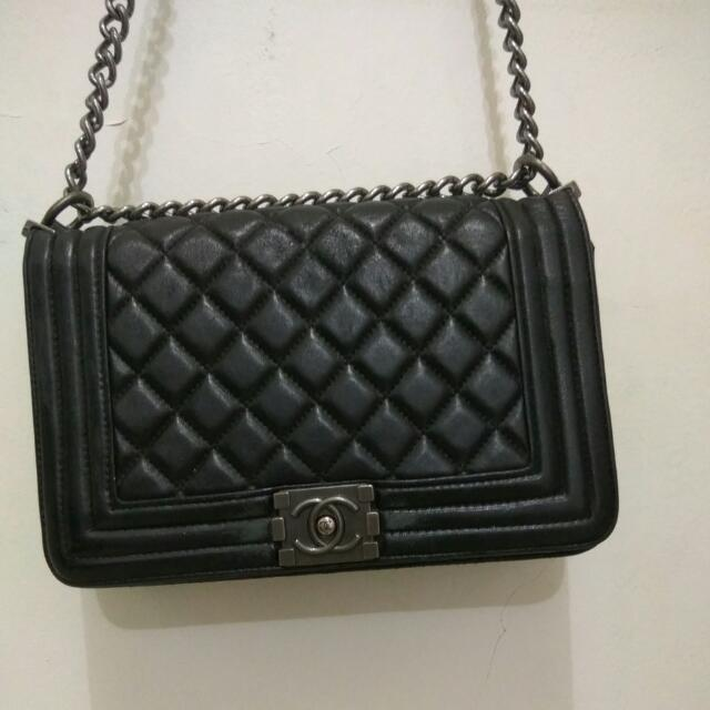 Channel Black Bag