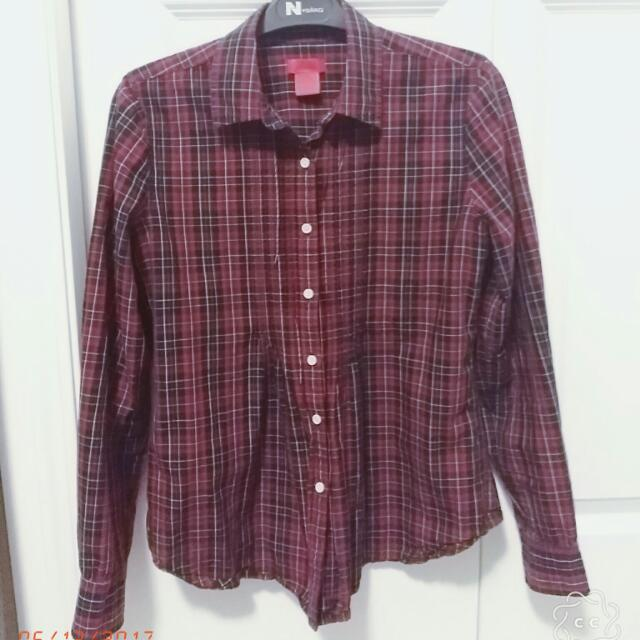 Checkered Blouse (S)