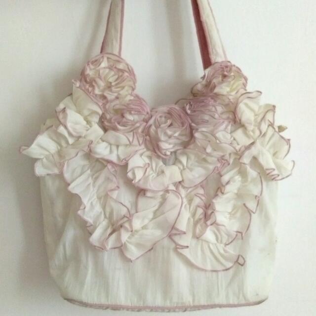 China Unbranded Satin Shoulder Bag - Preloved