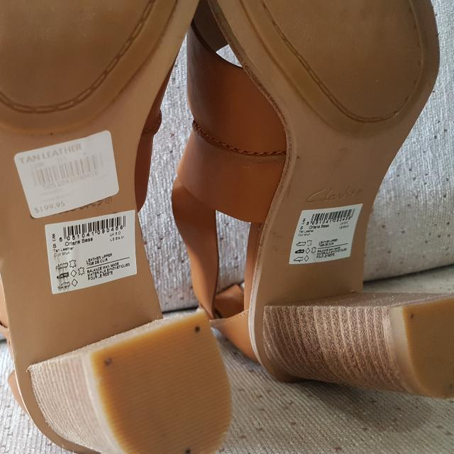 82ac336e2f1b Clarks Oriana Bess Tan Leather Shoes (And Others)