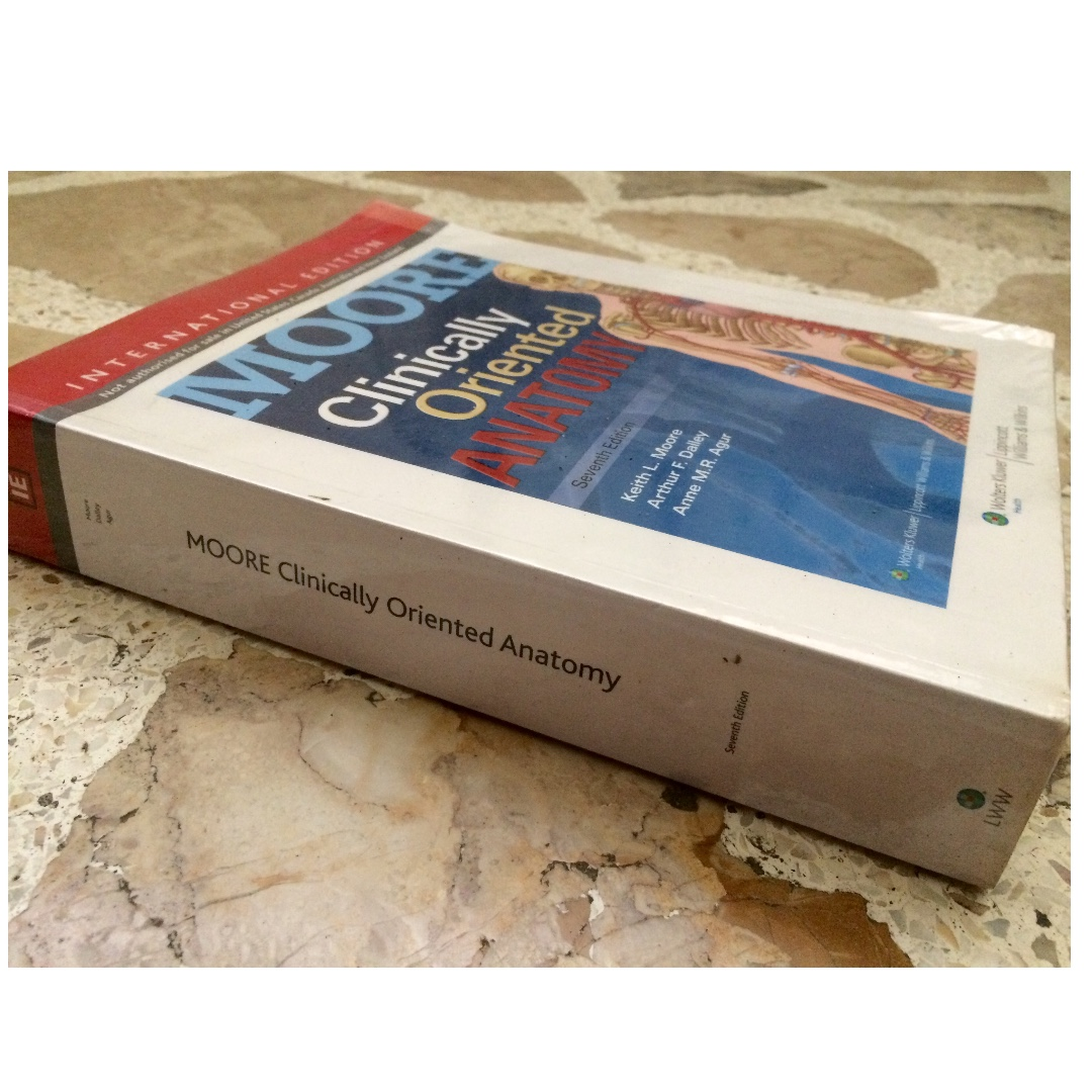 Clinically Oriented Anatomy 7th Ed By Moore Textbooks On Carousell