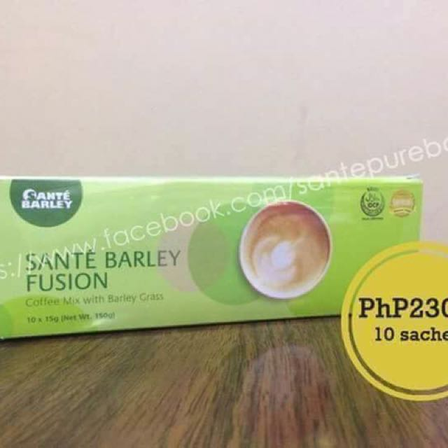 Coffee Mix with Barley Grass