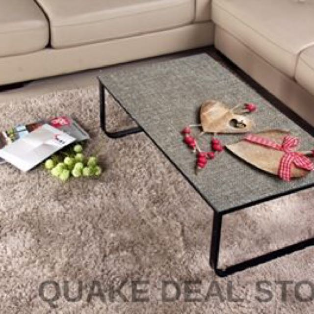 Coffee Table Tempered Glass Modern Living Designed (heart Design) HOT SELL!!