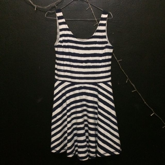 Colorbox Navy Stripes Play Dress
