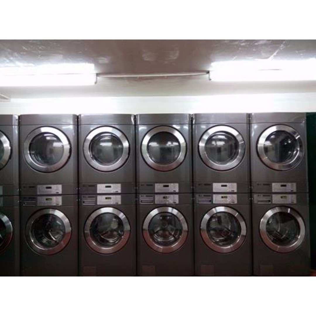 Commercial Washing Machine Dryer Laundry Business Kitchen Liances On Carou