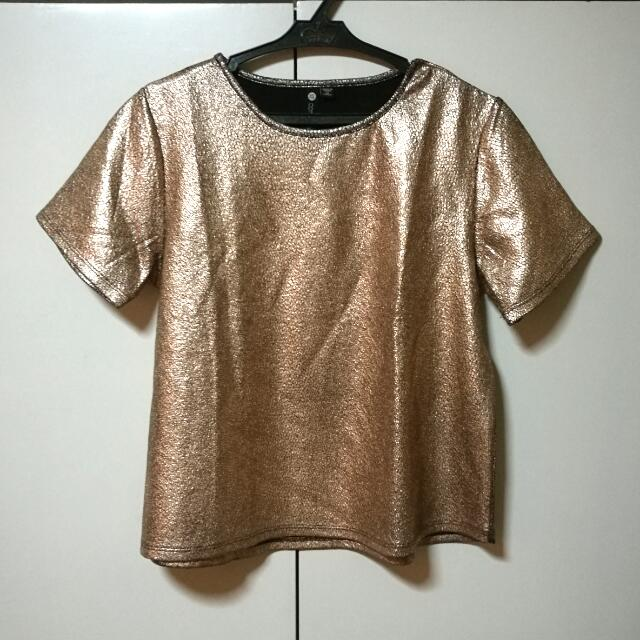 Cotton On Bronze Top REPRICED