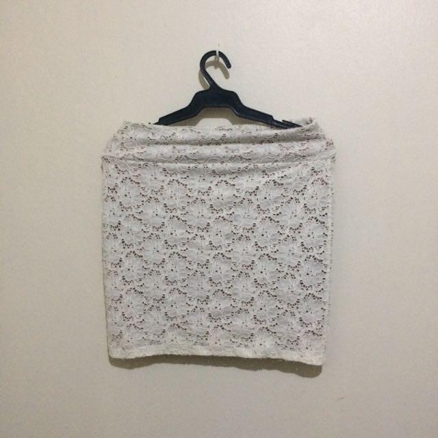 Cotton On Lace Bondage Skirt
