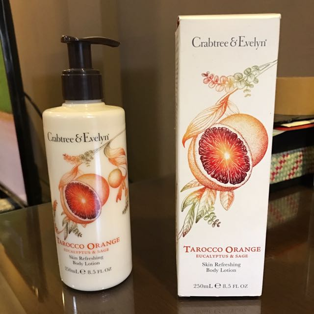 Crabtree& evelyn body lotion