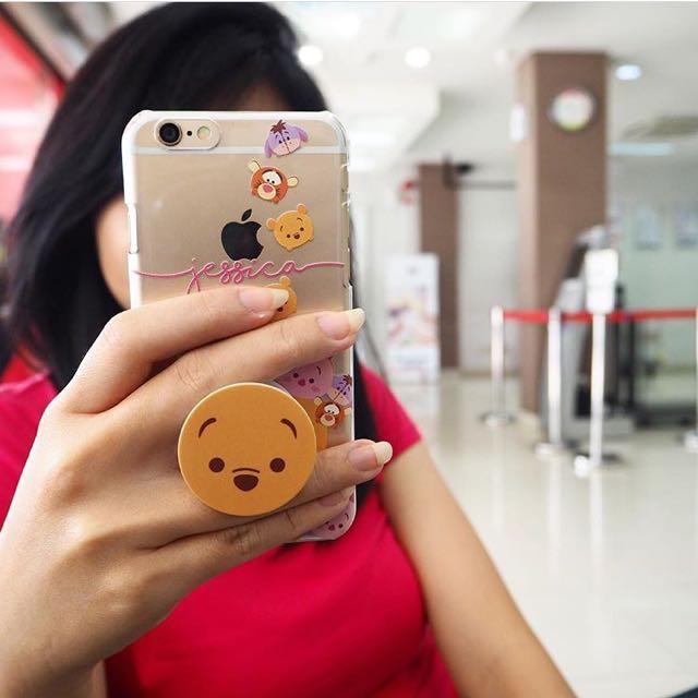 Custom case pop socket winnie the pooh tsum tsum mobiles photo photo photo photo photo voltagebd Gallery