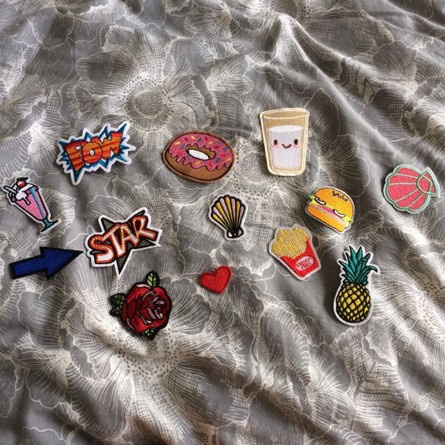 Cute Retro Appliqué Iron On Patches