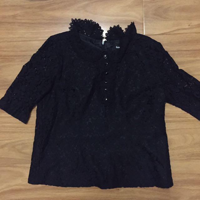 Dangerfield Lace Shirt