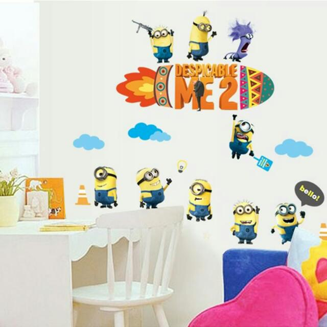 Despicable Me 2 Wall Sticker