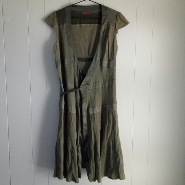 Diana Ferrari Wrap Dress Size 12