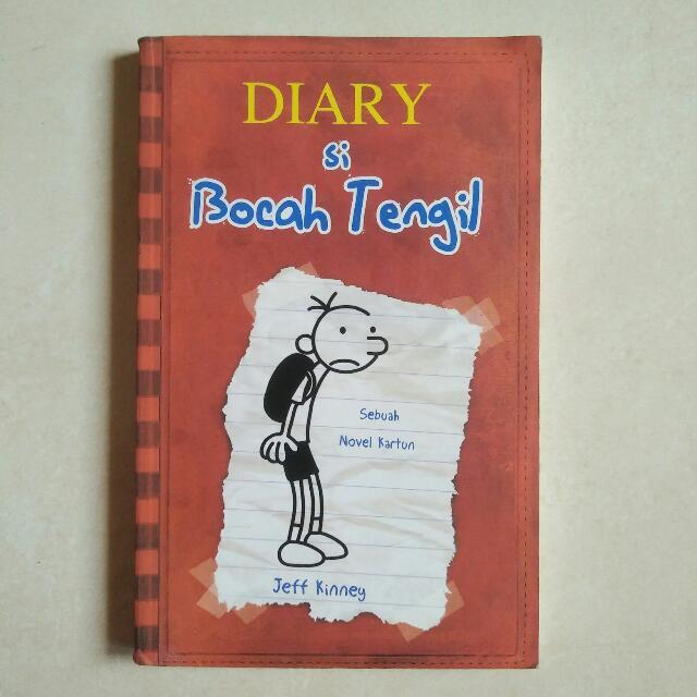 DIARY SI BOCAH TENGIL 1 - DIARY OF A WIMPY KID 1