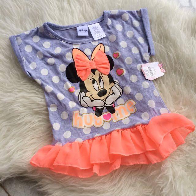 Disney Junior 3T Girls Minnie Mouse Top